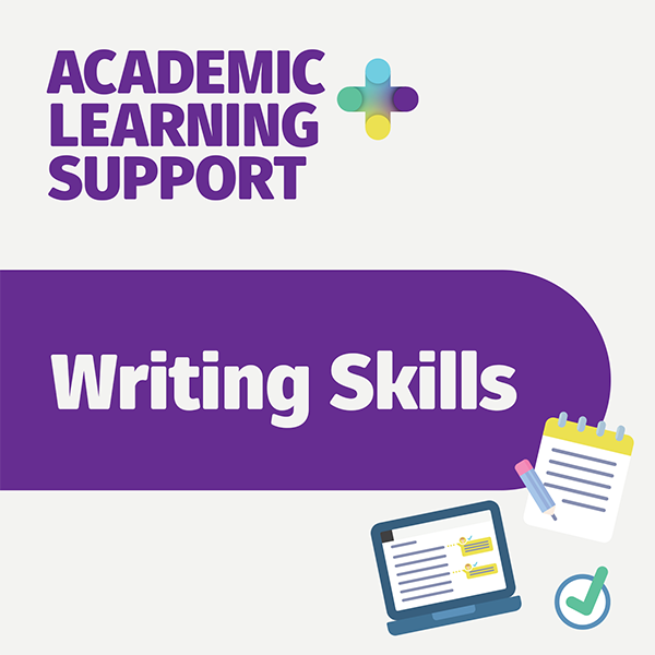 Writing skills - academic learning support