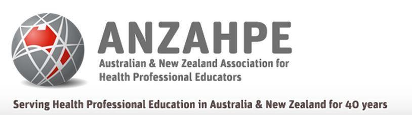 40 Years ANZAHPE Logo