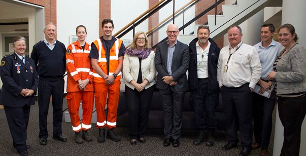 SES personnel and UON staff
