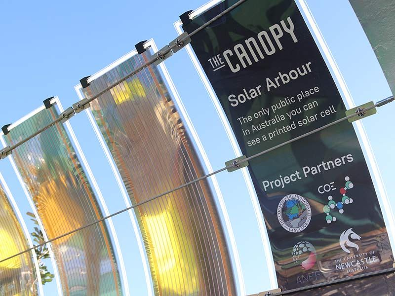 Lane Cove is the only public place in Australia where the printed solar can be viewed.