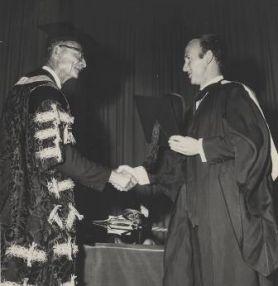 First graduation 1966
