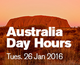 Library closed Australia Day