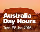 Australia Day Library hours