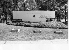 NCAE sign post amalgamation 1989