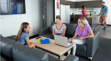 Study accommodation at the University of Newcastle