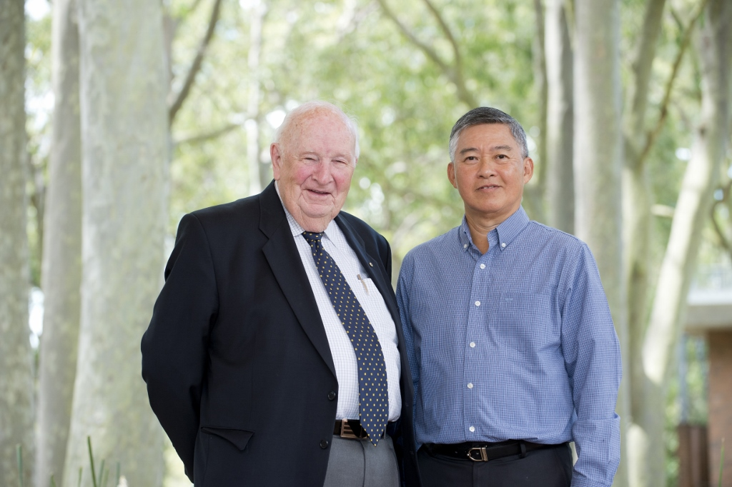Alan Roberts and Choo Heng Thong