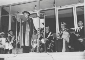 1967 Opening of McMullin Building