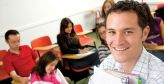 OHS lecturer in learning environment with students