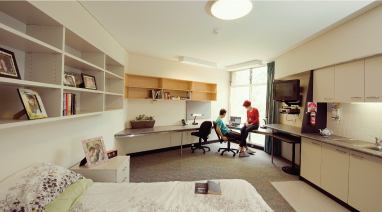 On-campus accommodation at the University of Newcastle
