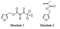 Thiophene-based monomers.