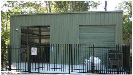 Geo-environmental facility
