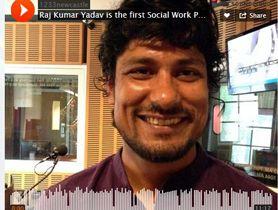 Raj Yadav Nepal's first social work PhD