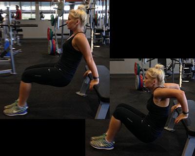 Bench Triceps Dip