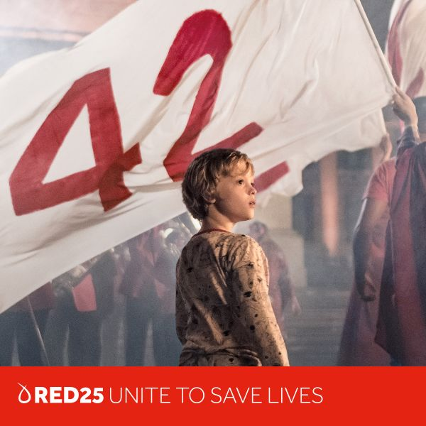 RED25 unite to save lives