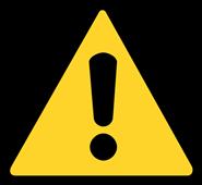 Alert triangle