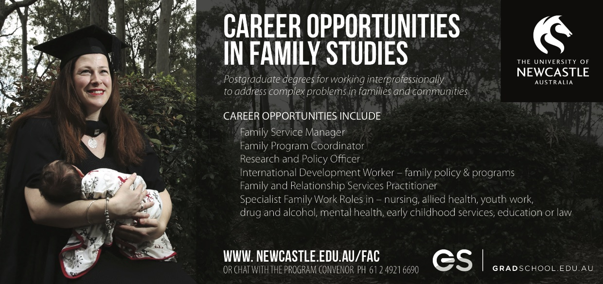 Career Opportunities in Family Studies Graphic