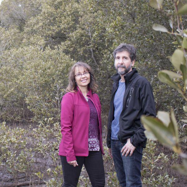 Dr Jose Rodriguez and Associate Professor Patricia Saco