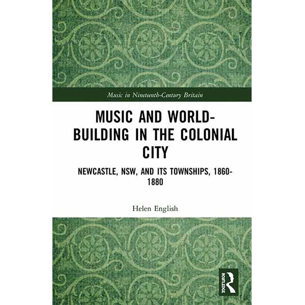 Music and world building book cover