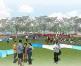 Artist's impression of student social space
