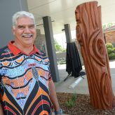 Significant Biripi sculpture connects community to country
