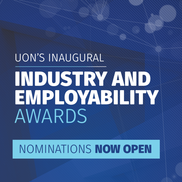 UON's Inaugural Industry and Employability Awards- nominations now open