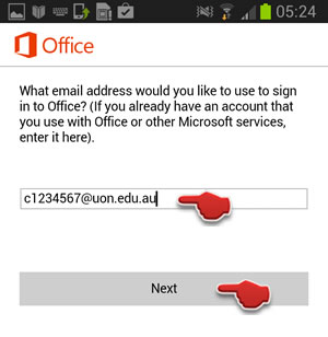 Sign in uon email