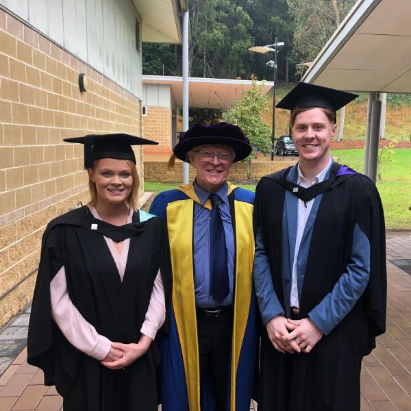 A family affair at Ourimbah graduation