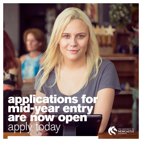 Mid-year entry at UON is now open