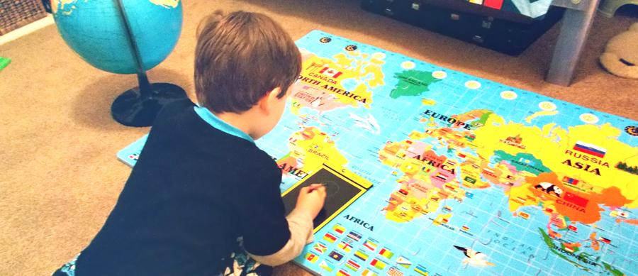 Multiple world in a preschool project