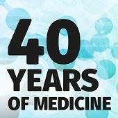 40 years of medicine