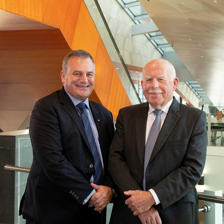 Vice-Chancellor and Chancellor
