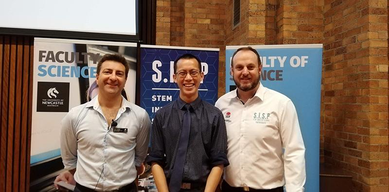 Peter Howley, Eddie Woo and Scott Sleap