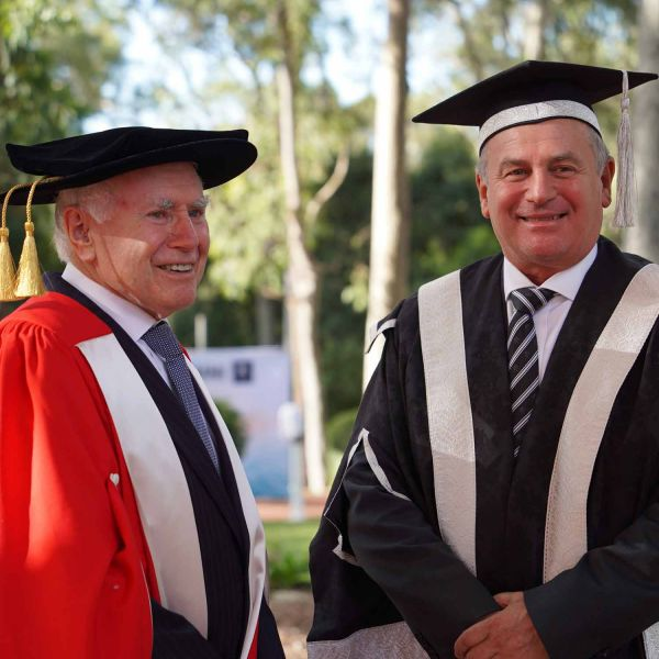 Former Australian Prime Ministers celebrated at graduation