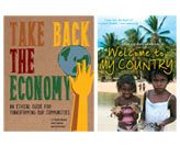 Book launch: Welcome to my country and  Take back the economy