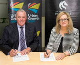 A new partnership working towards education in innovation-led renewal in Newcastle