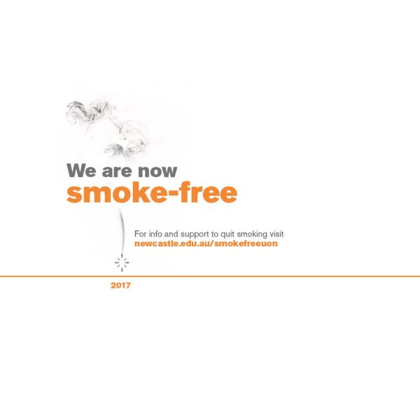UON is now smoke-free, no butts