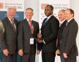 Dr Richard Oloruntoba wins 2013 DB Schenker Award