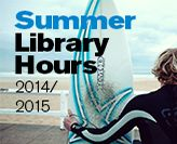 Library summer hours