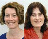 A/Prof Anouk Geelen and A/Prof Jeanne de Vries
