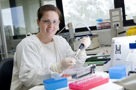 biomedical science student