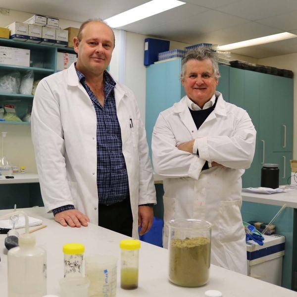 Dr Brett Turner and Professor Scott Sloan