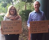CEOs sleepout to make a difference