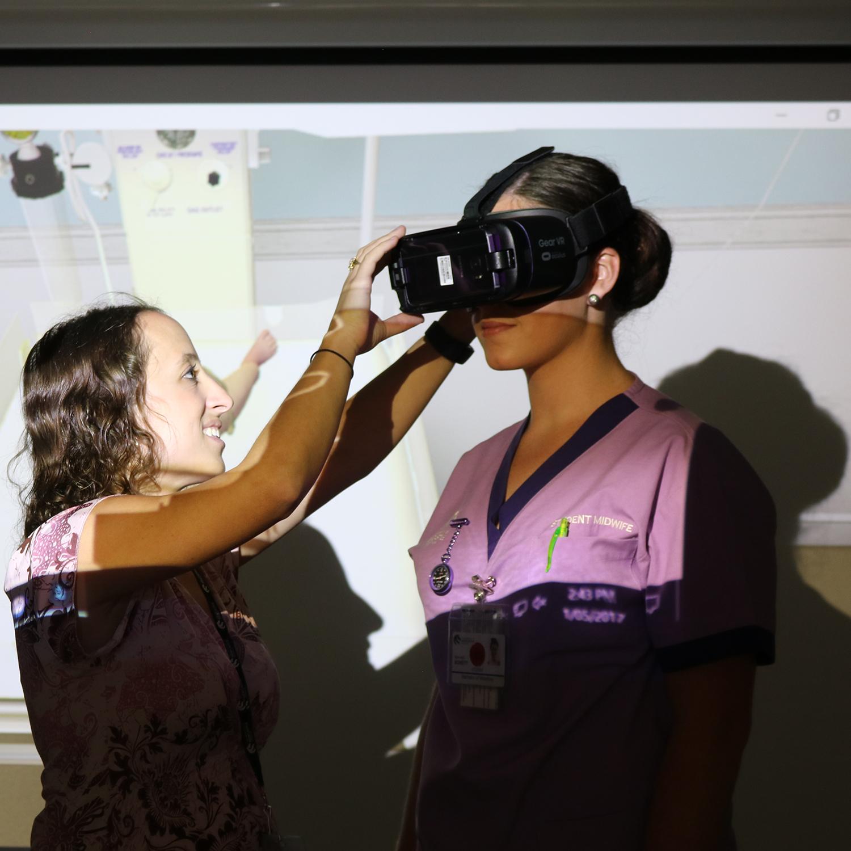 Virtual Reality midwifery