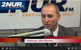 John Germov speaks with 2NURFM about food and wine sociology