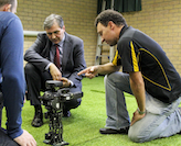 Croatian ambassador visits UON Robotics Lab