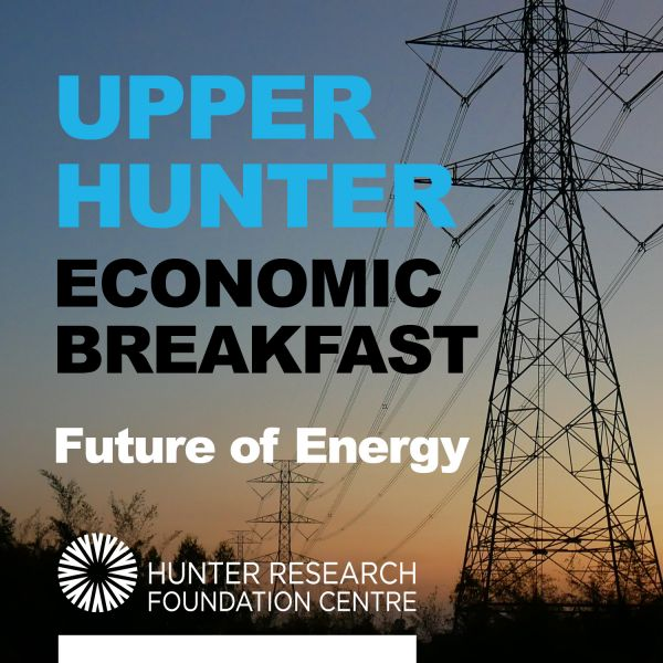 Upper Hunter Economic Breakfast 20 Sept