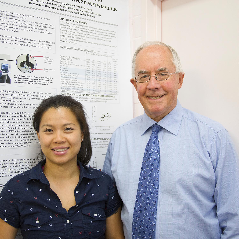 Dr Rachel Wong & Professor Peter Howe