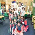 Physiotherapy students at Hillvue Public School After School Learning Centre