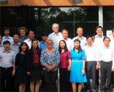 Visiting Vietnamese Delegation