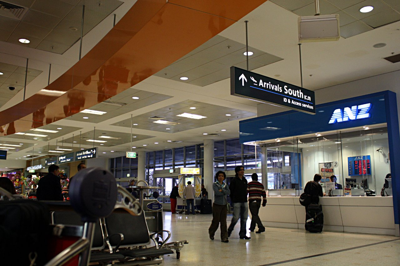 Arrivals Hall Sydney Airport
